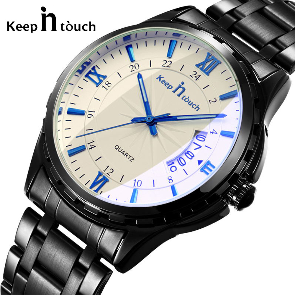 36af373e336 Detail Feedback Questions about Men 2018 Retro Quartz Wristwatches  Waterproof Noctilucent Fashion Casual Luxury Man Watch Luminous Date Clock  Relogio ...