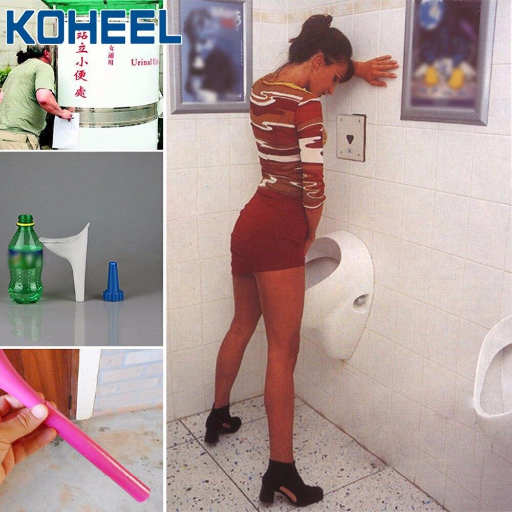 FEK Portable Femelle urinoir Camping en Plein air randonn/ée Voyage Urine Dispositif r/éutilisable Femme Tiolet Aide Entonnoir Outils