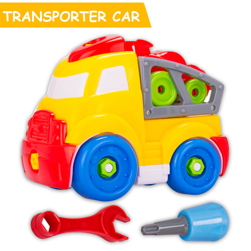 aliexpresscom buy hot wheels kids toys disassembly assembly car model plastic handwork diy puzzle educational vehicles toy for children boys gifts from