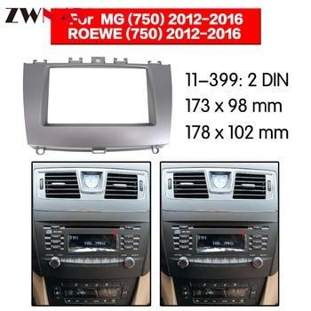 Auto Dvd-speler frame Voor 2012-2016 ROEWE 750 2DIN Auto Radio Multimedia NAVI fascia
