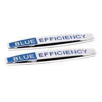 Car Accessories Car Decoration Fender Sticker Emblem Badge For Mercedes Benz Blue Efficiency B Class W205 W212 W210 A180 CLA GLA