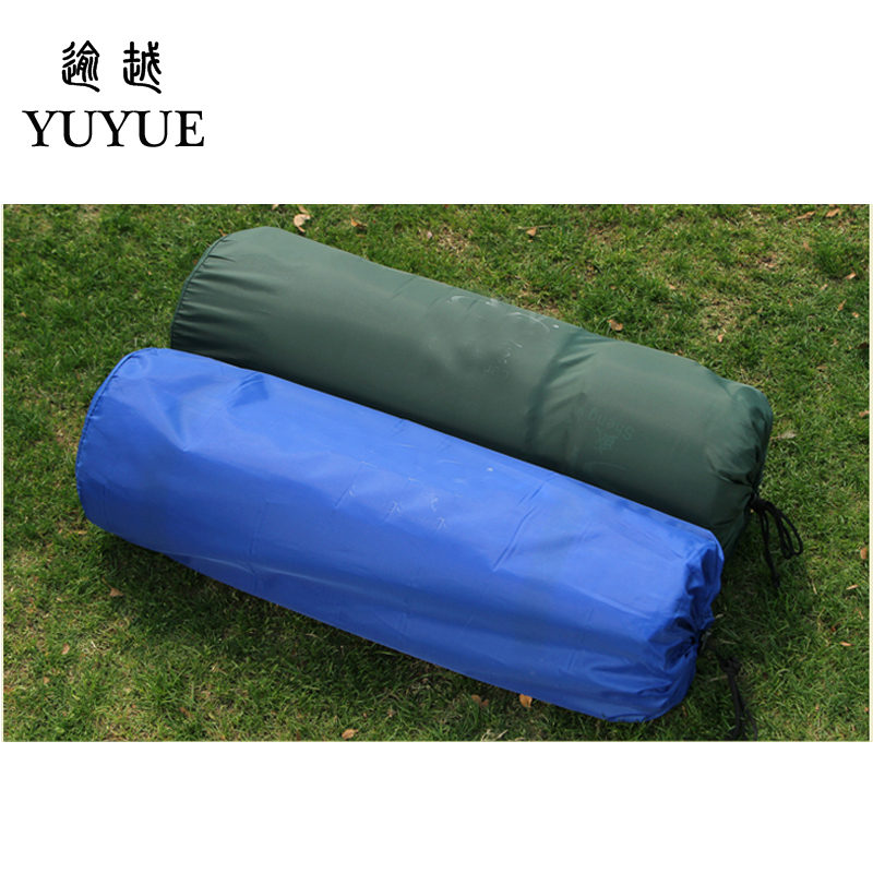 2 person Inflatable Mattress Outdoor Camping 3cm Thickening Air Bed with Pillow Sandbeach Self-driving Travel Air Foam Mat  5