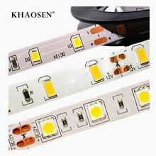 SMD 5630 2835 5050 NO-Waterproof  LED Strip 60LEDs/M 0.5m-5m DC12V Flexible LED String light Ribbon Tape Home Decoration Lamp m reger string quartet no 5 op 121