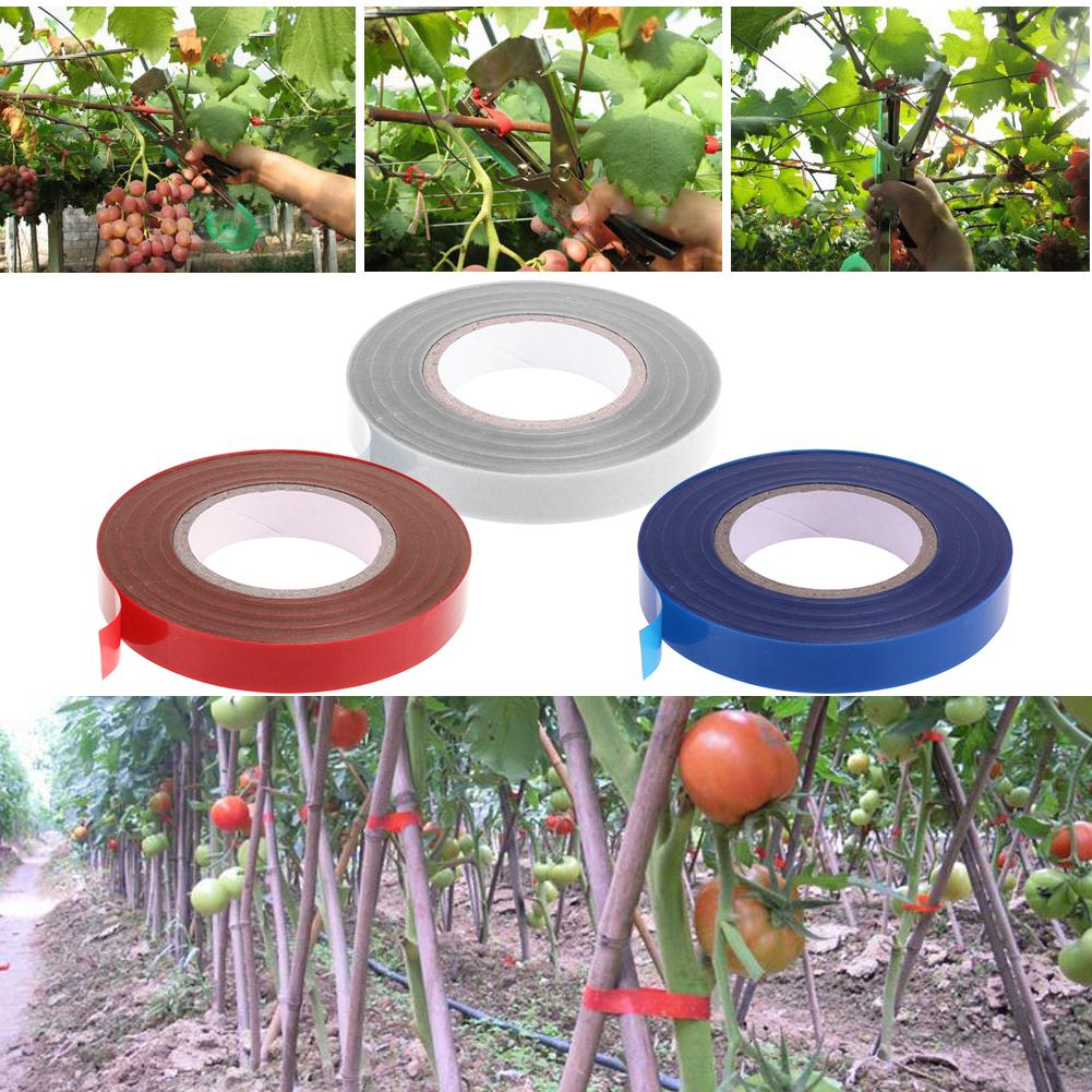 20/40Rolls High Strength Adhesive Garden Plant Branch Hand Tying Binding Tapetool Tapener Machine Agriculture Taper Tape Tools