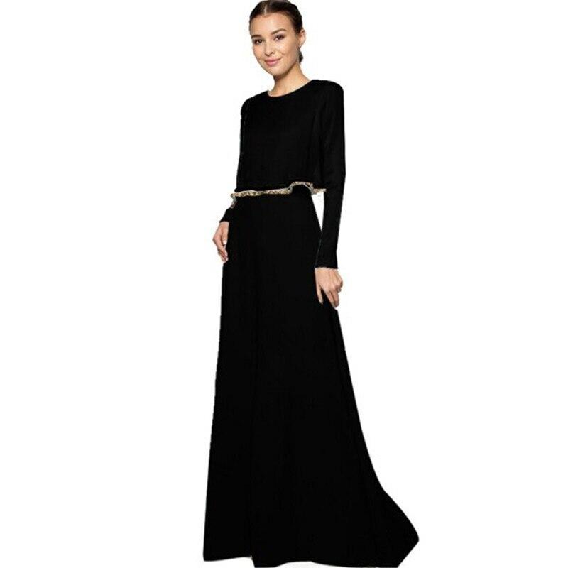 Moslemid kleit islami palve võlts 2pcs Pakistani köis Kaftan Abaya Dubai Jilbab Vintage Riietus Maxi