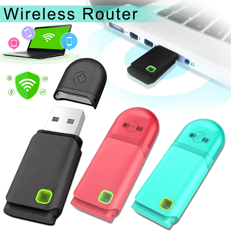 300Mbps Portable Wifi Usb Mini Mobile Wireless Router PC Laptop Dongle DJA99