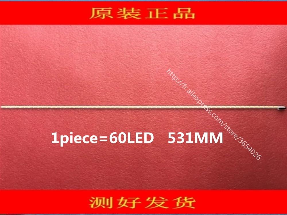все цены на 531mm LED Backlight strip 60leds For Konka LG 42 inch TV LED42X8000PD 6920L 0001C 6922L 0016A LE42A70W 6916L01113A LC420EUN онлайн