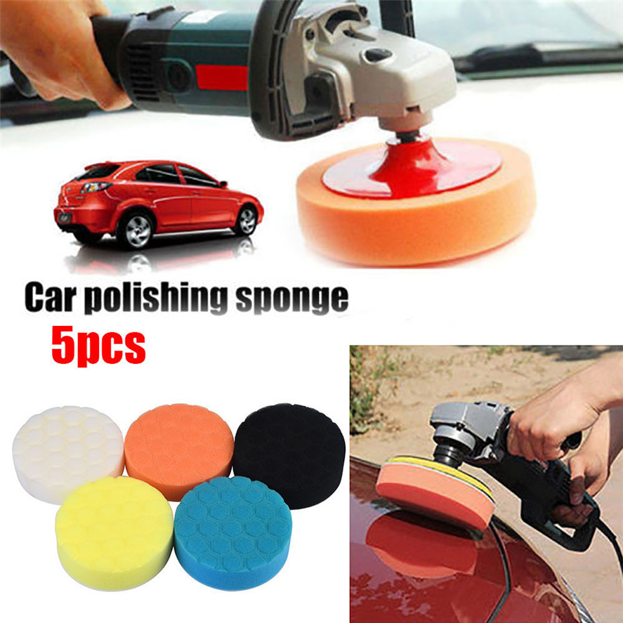 Polishing Metal and Removing Rust Paint 1Pc 6 Inch Hook and Loop Backing Plate Pad with M16 Thread Random Orbital Backing Plate Disc for Car Waxing