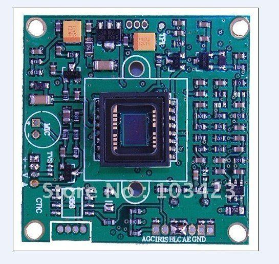 "1/3""  480TVL SONY CCD Camera Board  (3172+633), Free Shipping"