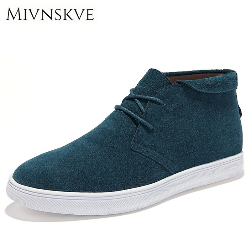 MIVNSKVE Men Shoes 2017 Spring Autumn Winter Cow Leather Casual Shoes Mens High Top Outdoor Flat Men Sneakers Plus Size 38-44 kulwindr kaur gurdial singh anne benedict nair and saroja dhanapal language errors in written english