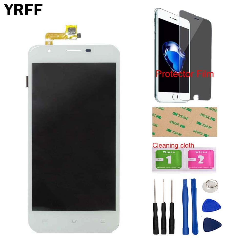 5.5 LCD Display Touch Screen Glass Digitizer Assembly Sensor For BQ BQS-5505 BQS 5505 LCDs Free Tools Protecotr Film + Adhesive