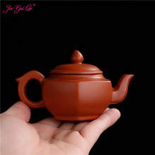 JIA-GUI LUO 100MLL Purple Clay yixing teapot  traditional chinese tea set  oolong tea Portable travel tea set  H028