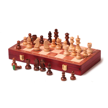 Top Grade Wooden Folding Large Chess Set Solid Wood Rosewood Chessboard Entertainment Board Games For Competition Children Gifts