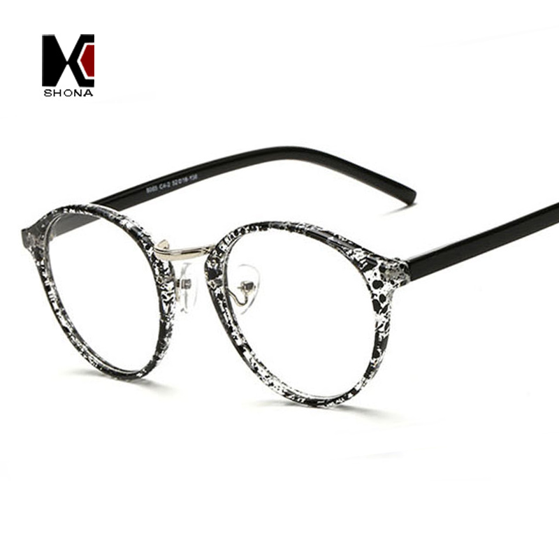 ac0803c53f2 Aliexpress.com   Buy SHAUNA Fashion Round Eyeglasses Frames Brand Designer  Men Black Circling Optical Frame Glasses Women Eyewear Plain Glasses from  ...