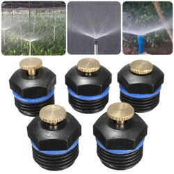 50pcs Garden Irrigation Tools Micro Flow Dripper Drip Head Irrigation Sprinklers Adjustable Water Spray Head Mayitr