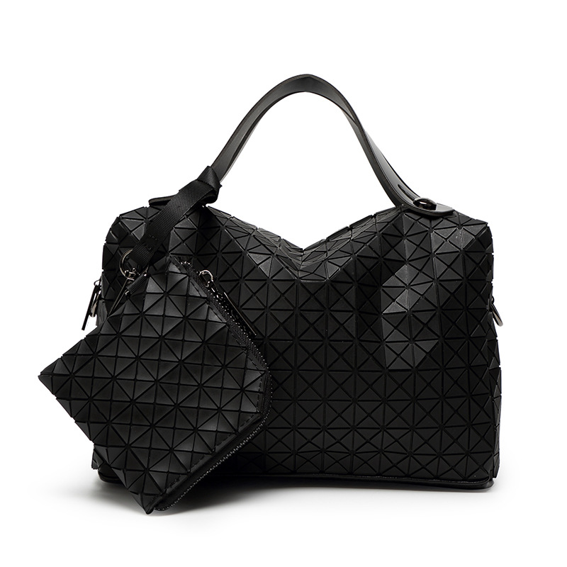 New fashion ladies envelope bags wiht 3D triangle Splice Brilliant Dot woman Handbag Casual Day Clutch PU Leather Bags