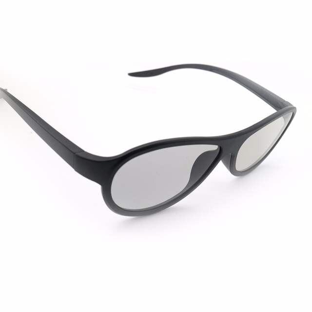f02c02dbba 4 unids/lote /reemplazo AG-F310 gafas 3D polarizadas gafas pasivas para LG