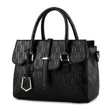 2016 European and American fashion designer famous brand  women messenger bag High quality PU leather women handbag shoulder bag