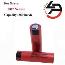 Corrente de Descarga 2 Pçs e lote Ncr18650ga Originais 18650 Sanyo 3.6 V 3500 Mah Alta Drenagem 10a DA Bateria