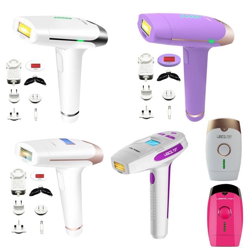 Lescolton 400000 Pulse 2in1 IPL Epilator Laser Hair Removal Machine Permanent Depilador a Laser For Body Face Bikini Underarm ...