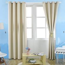 slaapkamer gordijnen verduisterende thermische effen gordijn voor woonkamer decor 3 kleurenchina