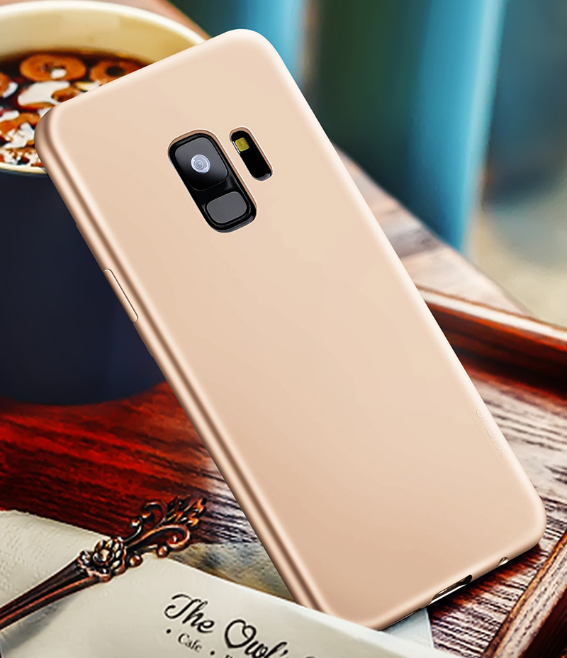 X-Level Guardian Soft Silicone Cover Case For Samsung Galaxy S9 Plus X Level Ultra thin Matte TPU Protective