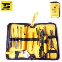 free shipping BOSI 12 in 1 telecom computer repair tools set electronic hand tool kit
