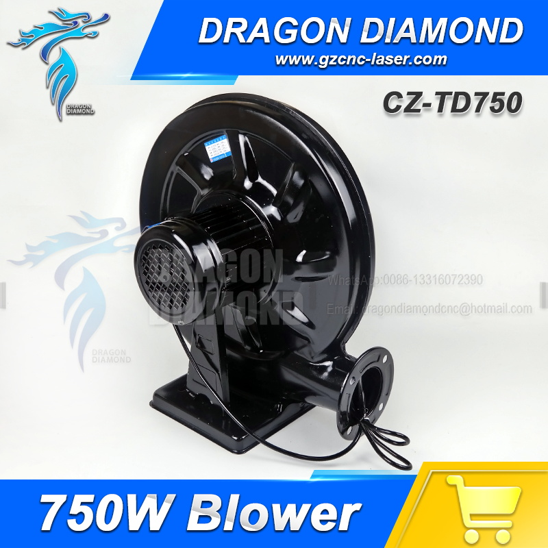 Air Blower Centrifugal 220V 750W Exhaust Fan For CO2 Laser Engraving Cutting Machine 220v 750w exhaust fan blower exhaust fan suit for all co2 laser machine zurong