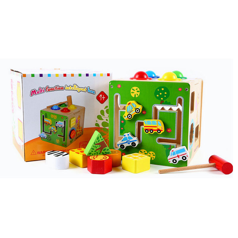 Wooden Educational Toys For Children Montessori Material