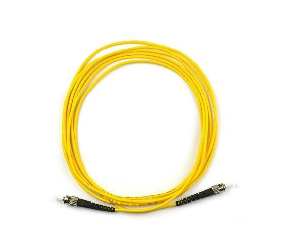 10PCS ST UPC 3M Fiber Optic Cable Single Mode Simplex 2.0MM 3.0MM ST Fiber Optic Patch Cord Fiber Optic Jumper Free shipping