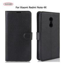 HUDOSSEN For Xiaomi Redmi Note 4 Pro Prime Case Leather 5.5 Mobile Phone Accessories Phone Bags Cases For Xiaomi Redmi Note 4X