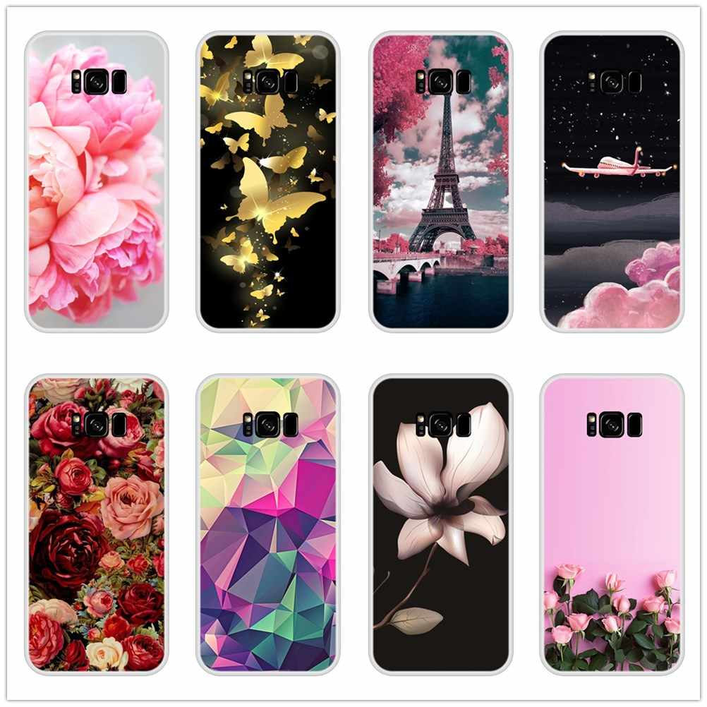 Fashion Phone Case For Samsung Galaxy Note 9 8 5 4 Cases For Samsung Galaxy S6 S5 S7 Edge S8 S9 Plus Silicone Soft Back Cover