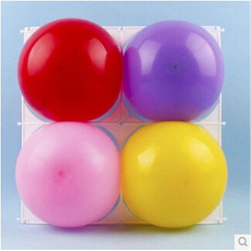 Ingyenes szállítás 30db ballon rácsok 4 lyukú latex léggömbök - Ünnepi és party kellékek