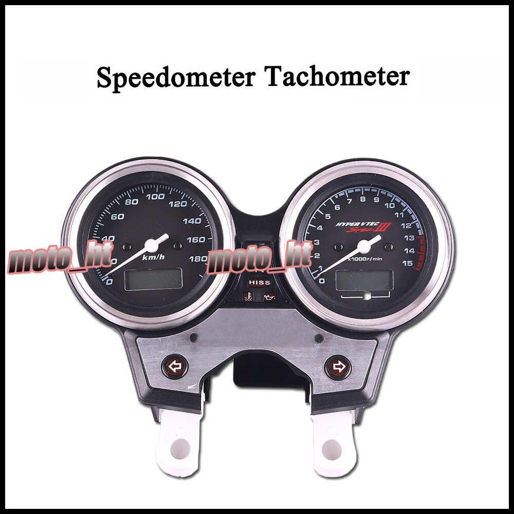 スピードメータータコメータタコゲージ楽器ホンダ CB 400 2004 2005 2006  グループ上の 自動車 &バイク からの カバー & オーナメント作り の中 1