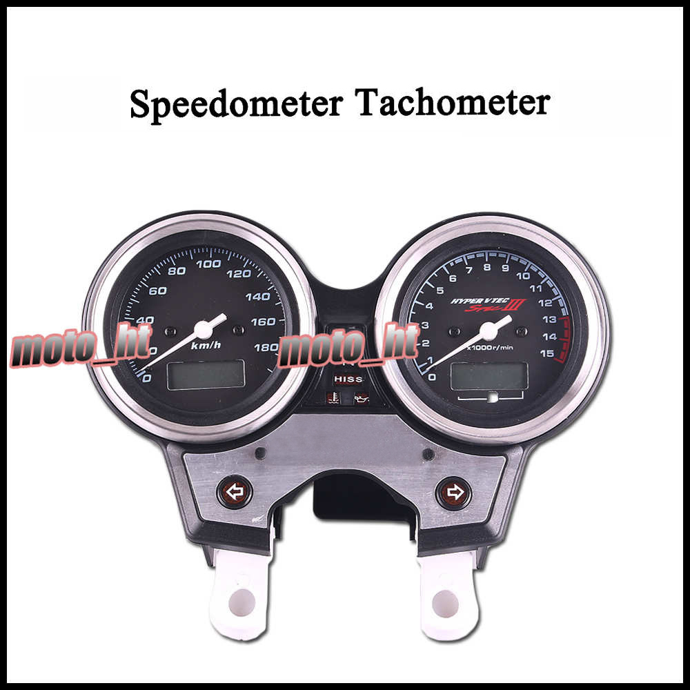 Speedometer Tachometer Tacho Gauge Instruments For HONDA CB 400 2004 2005 2006 motorcycle speedometer gauge cover tachometer for honda goldwing gl1800 2001 2002 2003 2004 2005 speedometer tachometer cover