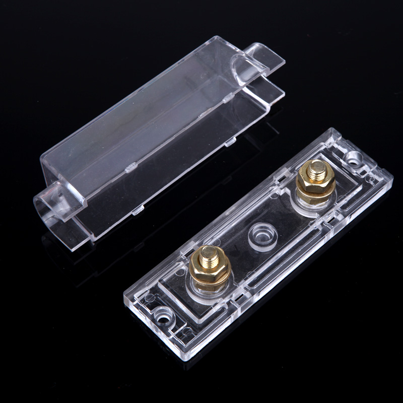 online buy whole amp distribution block from amp car style fuse holder anl fuse box distribution fuseholder fuse holder blade inline 0 4 8