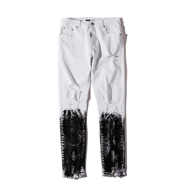 Distressed Skinny Jeans 3