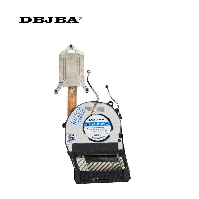 CPU Cooling Fan For SONY VAIO Pro11 SVP11 SVP11227SC SVP112 SVP1121s2c SVP11217SC SVP11226SCBI HY55Q05P laptop fan with Heatsink цена