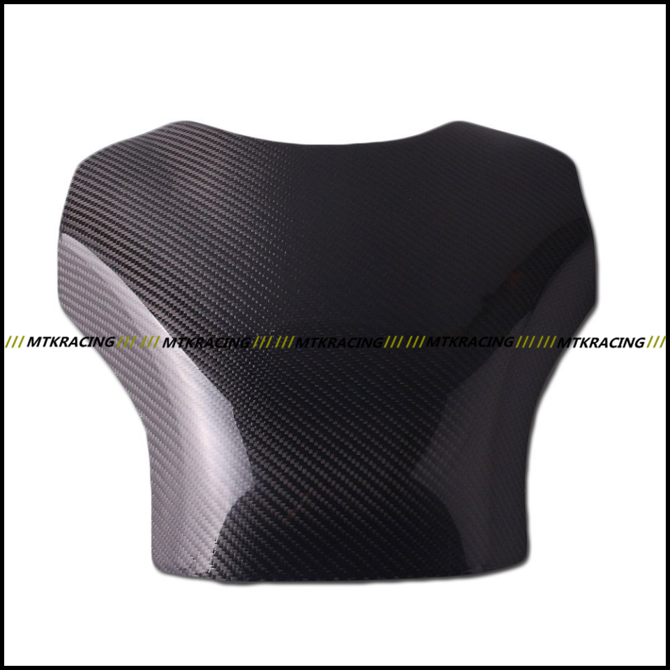 Free shipping Carbon Fiber Fuel Gas Tank Protector Pad Shield For YAMAHA YZF-R1 2009-2013 2009 2010 2011 2012 2013 black color motorcycle accessories carbon fiber fuel gas tank protector pad shield rear carbon fiber for kawasaki z1000 03 06