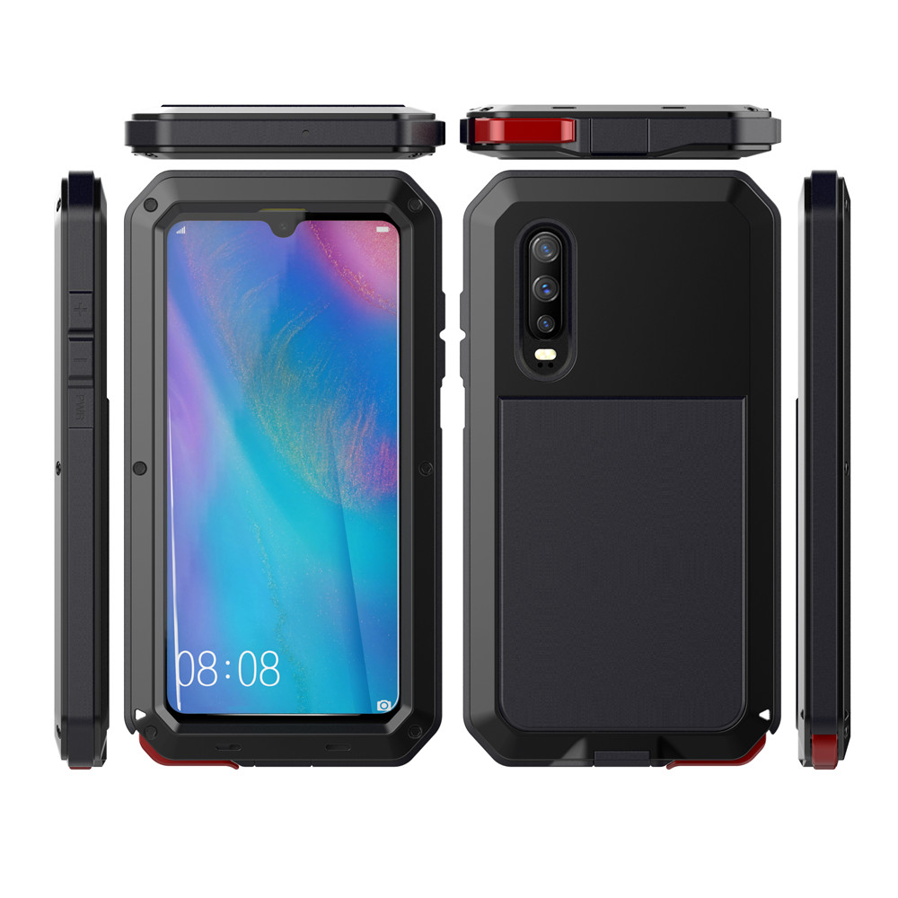 Image 3 - Full Protective Luxury Doom Armor Heavy Duty For Huawei P30 For Huawei P30pro P30 Pro Metal Case Shockproof Cover-in Fitted Cases from Cellphones & Telecommunications