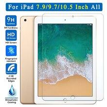 Защитный Стекло для Apple iPad 9,7 10,5 5th 6th Pro Экран протектор Закаленное воздуха 1 2 3 4 5 6 поколения TH
