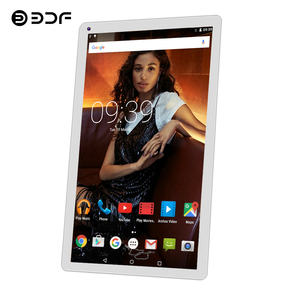 BDF Android Tablet 10 Inch Android 5.1 Tablet Pc Quad Core Google Play 1GB/32GB 1024*600 Mini Tablet Computer WiFi Tablets 10.1