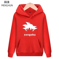 Dragon ball super/ Dragon ball Z GOKU hoodies SON GOKU CONCEPT hairstyle hoodies men's hoodies thick material ac769