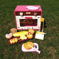 New Wooden Toys Food Cooking Simulation Tableware Oven Children Kitchen Pretend Play Toy Fruit Vegetable Cutting Toy D107