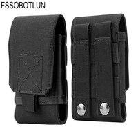 FSSOBOTLUN de ejército cinturón funda de bolsa para cintura para Archos 55 Helium Plus/diamante S para Cubot R11/King Kong/X18/X18 Plus/Cheetah 2