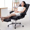 Super Soft Leisure Lying Office Chair Lifting Adjustable Computer Swivel Chair Heighten Backrest Thickening Cushion Boss Chair