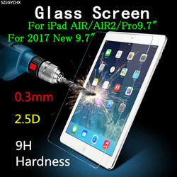 Tempered glass screen protector for ipad air 1 air 2 for ipad pro 9 7 new2017.jpg 250x250