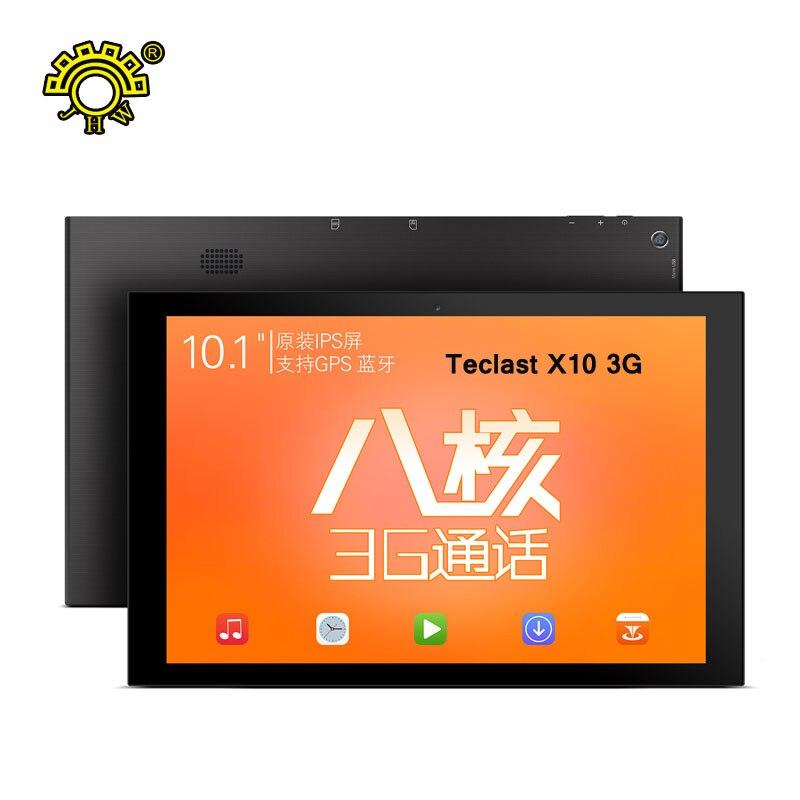 Teclast X10 3G 10.1″ GPS Tablet PC Android 5.1 Octa Core 1GB Ram 16GB ROM 1280×800 IPS G+G Screen Phone Call WCDMA/GSM 2.4G+5G