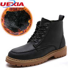 UEXIA New Winter font b Shoes b font font b Men b font Snow Boots Warm