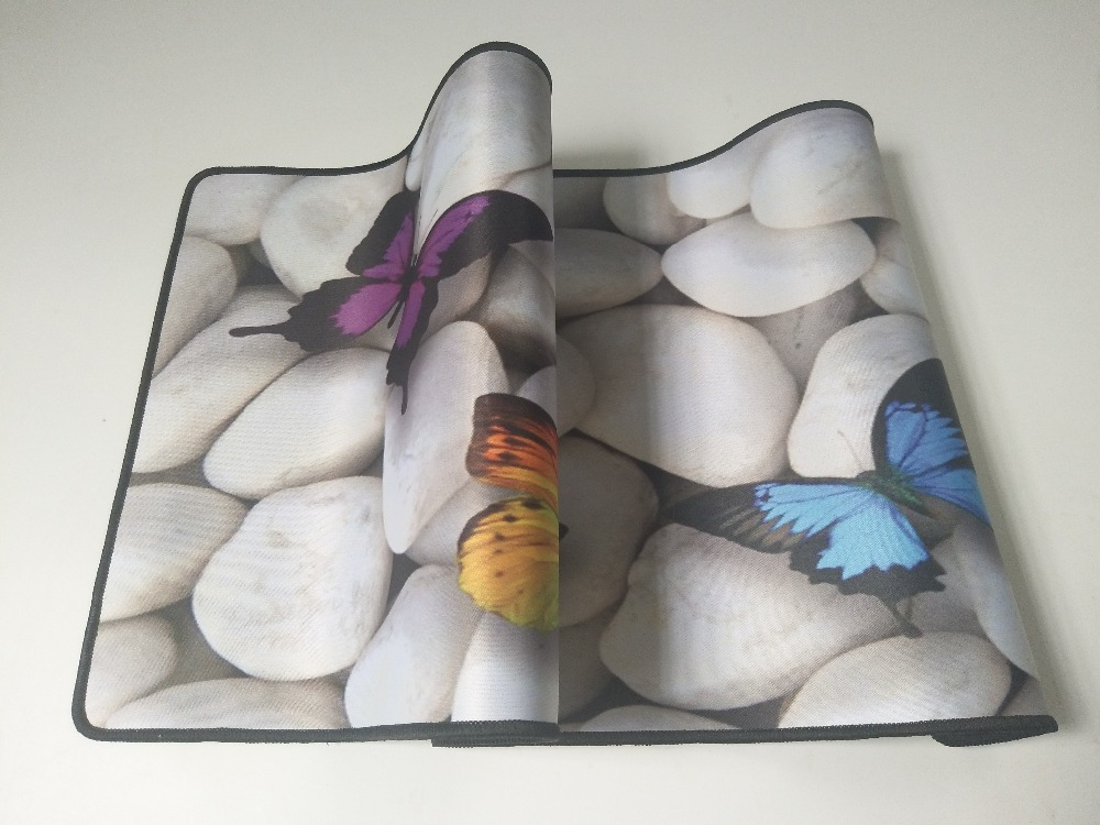 Mairuige The Butterfly on The Stone Extended Gaming Mouse Mat Mouse Pad of Professional Gamers 900x400 Size Large Table Mats